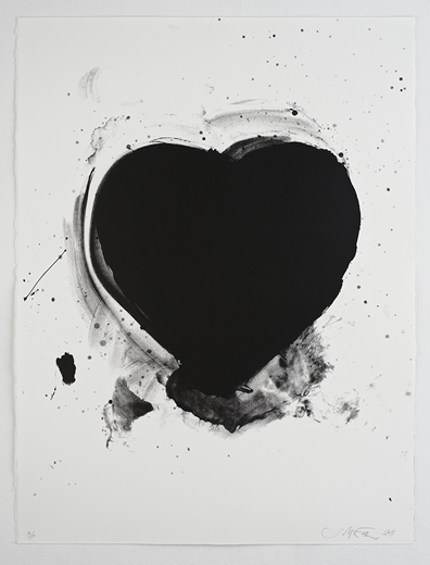 sam mcewen love heart print black